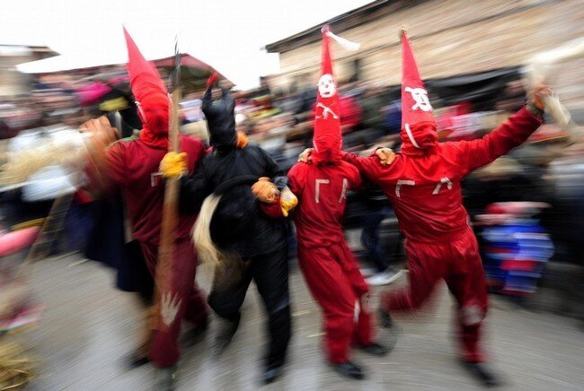 Карнавал в Македонии (7 фото)