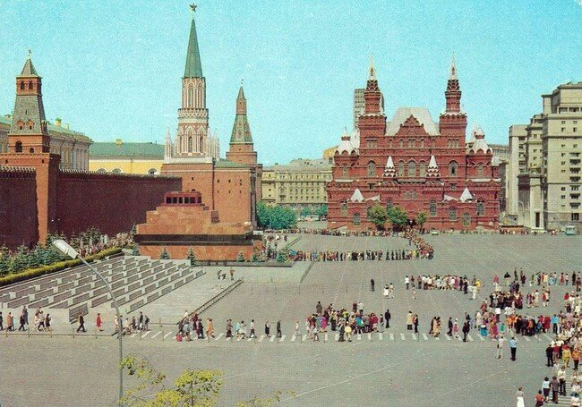 Москва. Комплект открыток (11 фото)