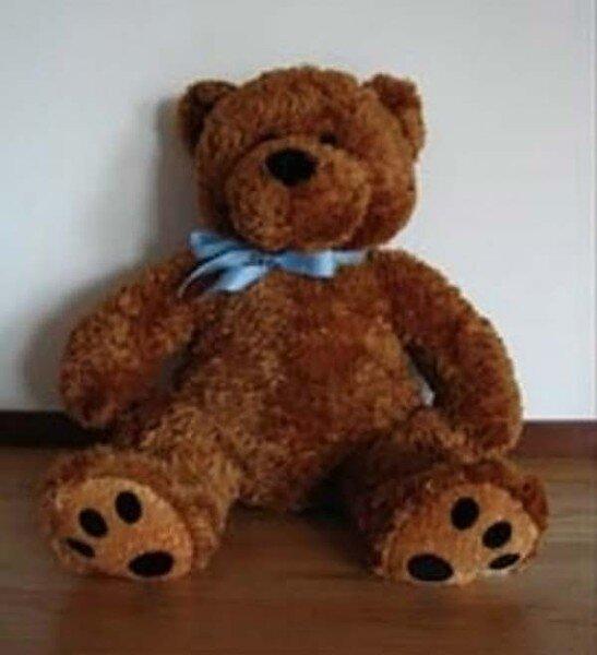 Очень полезный плюшевый медведь (3 фото)