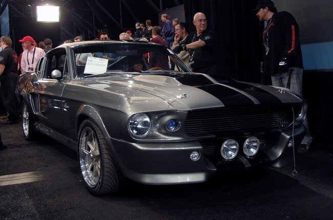 Тот самый Ford Mustang Shelby GT500 1967 (9 фото)
