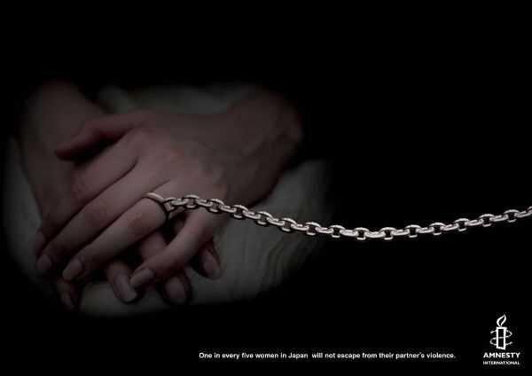 Насилие над женщинами - подборка социальной рекламы (58 фото + текст)