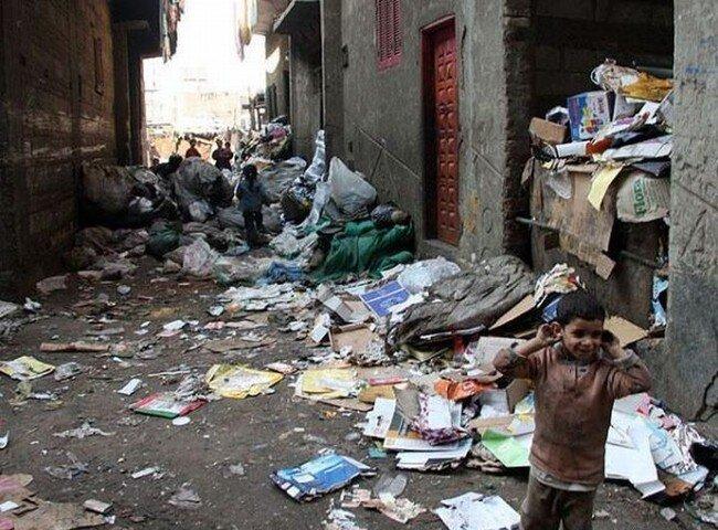 Город мусорщиков (23 фото)