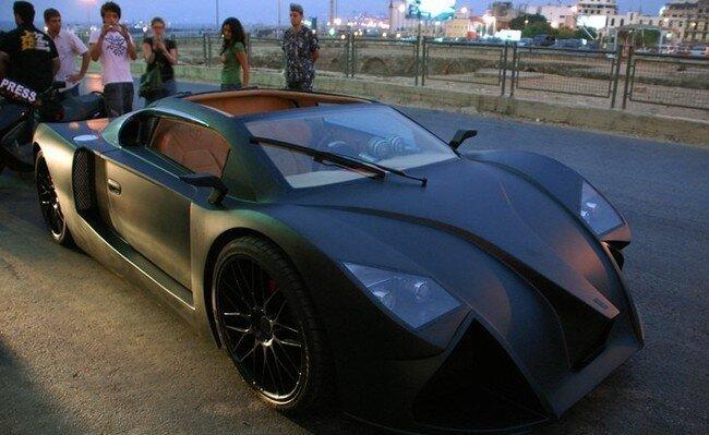 Первый ливанский суперкар (10 фото)