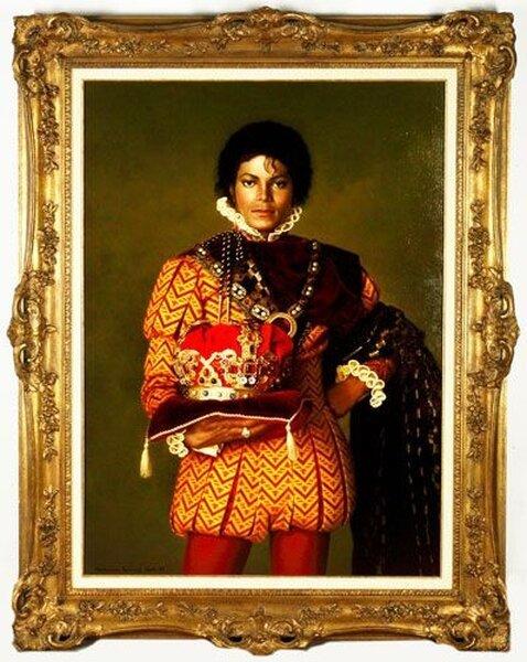 Майкл Джексон устроил аукцион из своих вещей (27 фото)