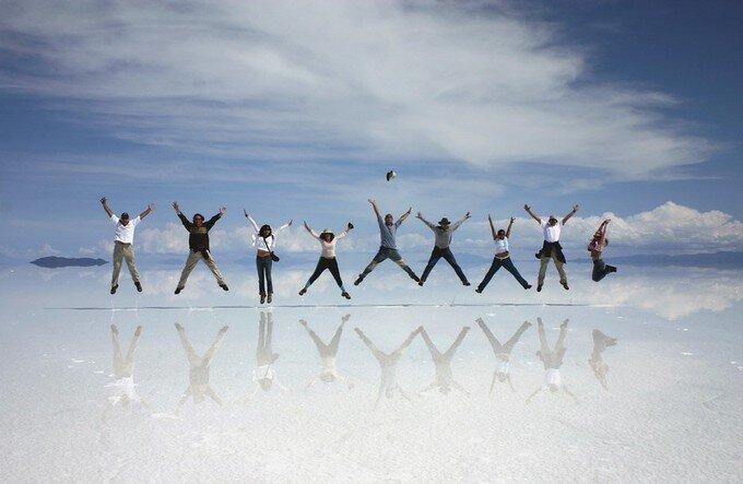 Самое большое зеркало в мире (10 фото)