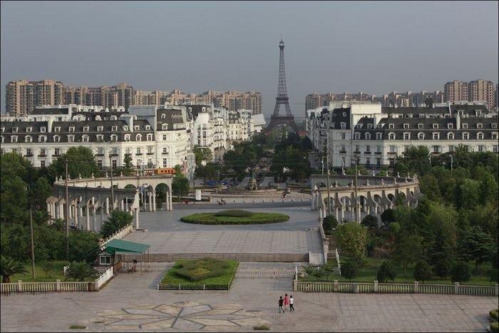 Китайская копия Парижа (21 фото)