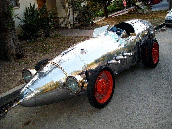 Машинка Rocketcar (6 фото)