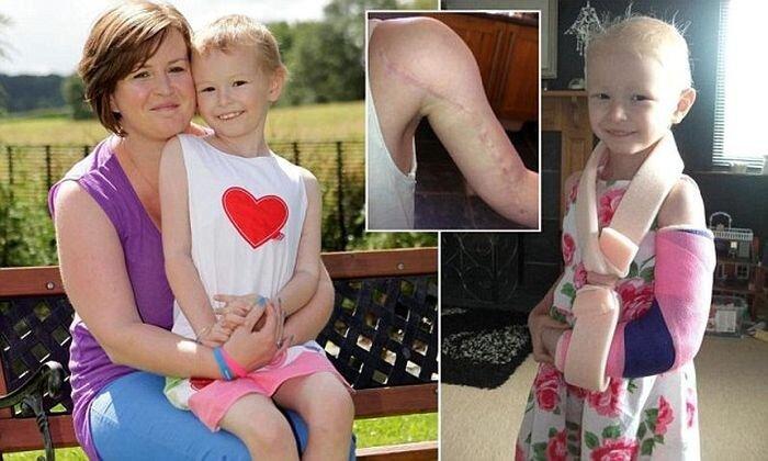 Врачи вылечили девочку от рака (9 фото)