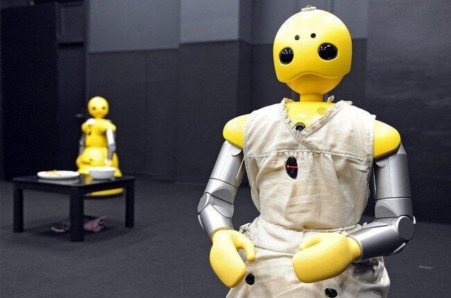 Роботы (32 фото)