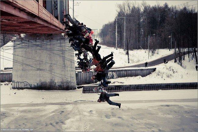 Большой прыжок (17 фото)