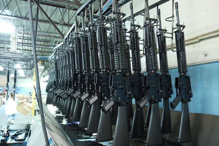 Экскурсия на завод ФН в Южной Каролине (8 фото)