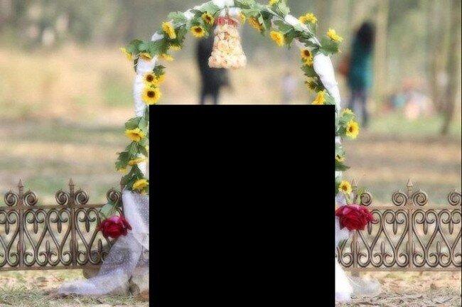 Необычная свадьба (20 фото)