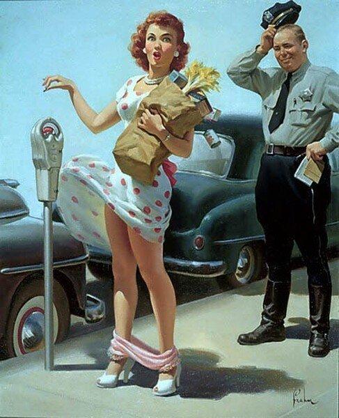 Эротическая лихорадка XX века. Pin-up (16 фото)
