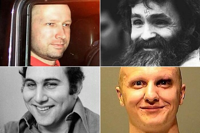 10 улыбок серийных убийц (10 фото)