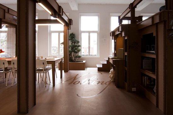 Картонный офис в Амстердаме (13 фото)
