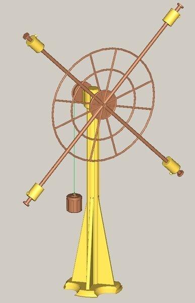 Спичечный маятник Обербека (21 фото)