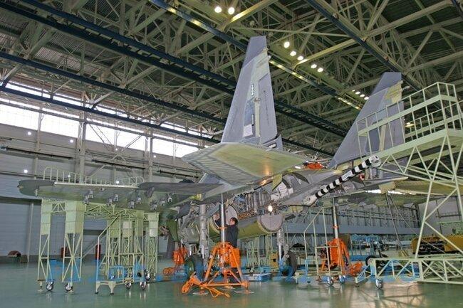 Производство серийных МиГ-29К/КУБ (19 фото)