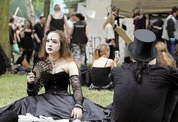 Готический фестиваль (15 фото)