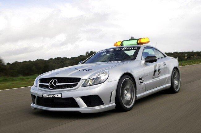 2009 Mercedes-Benz SL63 AMG F1 Safety Car (10 фото)
