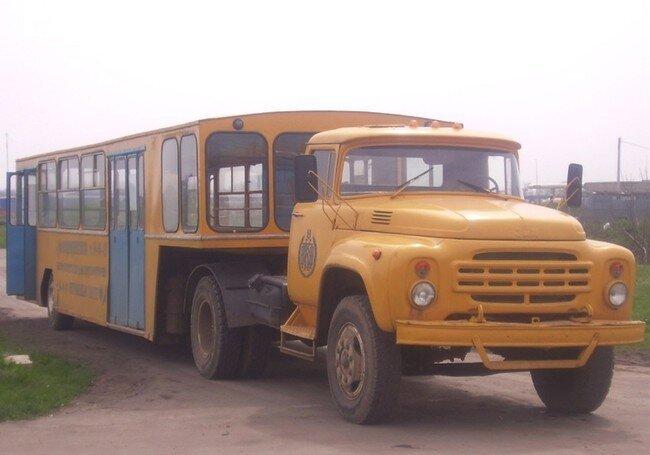 Чудо автобус из Одессы (3 фото)