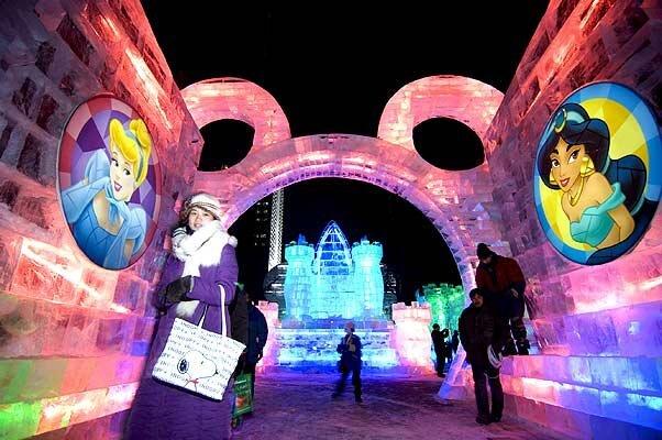 Фестивали снежных и ледяных скульптур (19 фото)