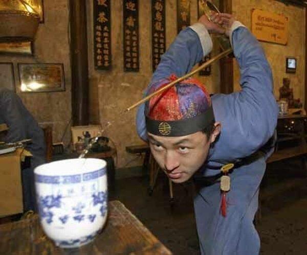 Тонкости чайной церемонии в Китае (5 фото)
