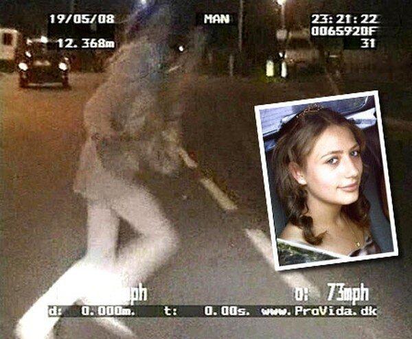 Полицейский сбил школьницу (8 фото + видео)