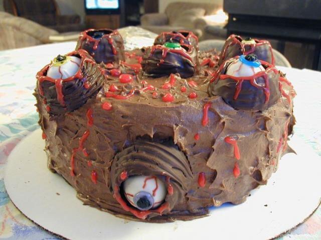 Тортики не для слабонервных (28 фото)