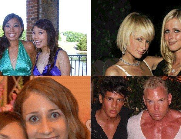 Люди, которые выглядят одинаково на всех фото (5 гифок)