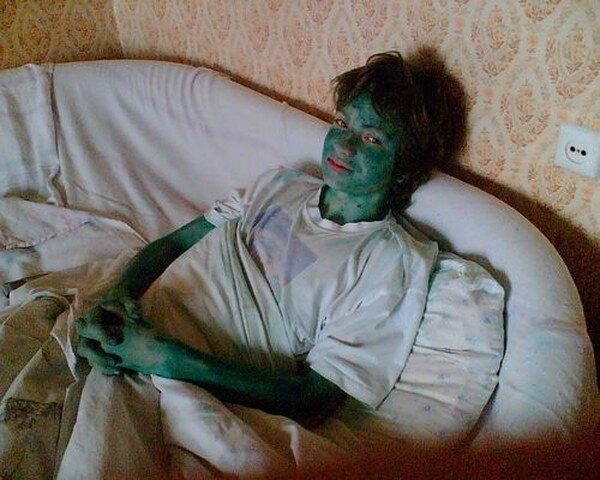 Зеленые человечки (17 фото)