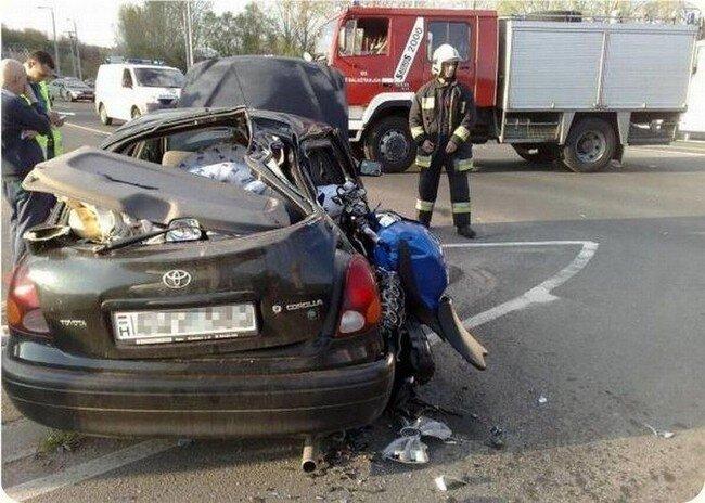 Авария в Венгрии (5 фото)