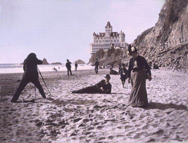 История дома на скале (13 фото)