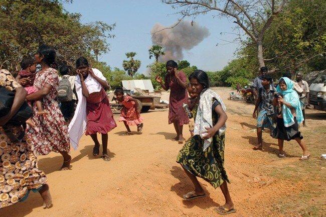 Беженцы в Шри-Ланке (31 фото)