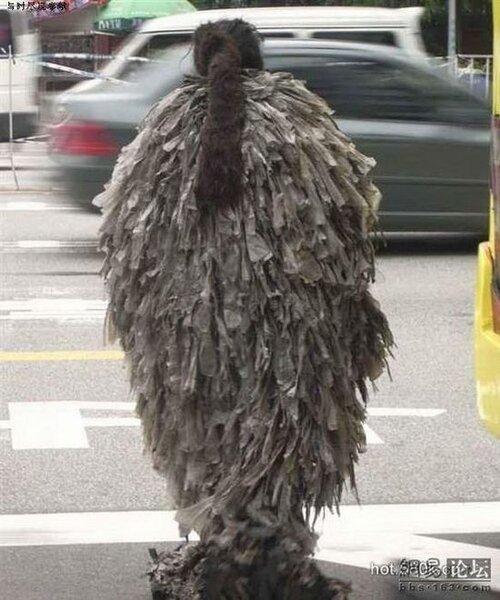 Оригинальный костюм (3 фото)