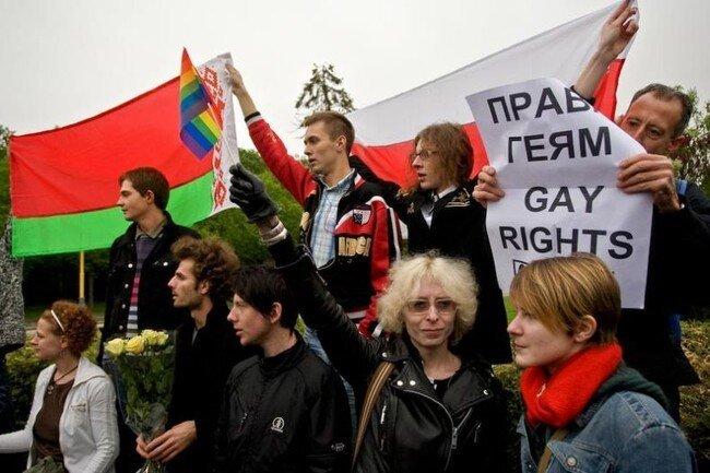 Как прошел гей-парад в Москве (18 фото)