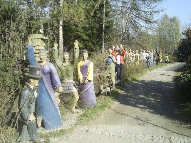Финский маньяк-скульптор (6 фото)