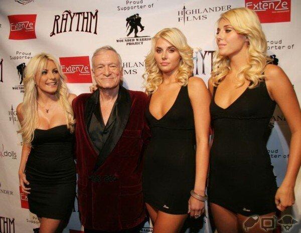Бодиарт на вечеринке Playboy (20 фото)