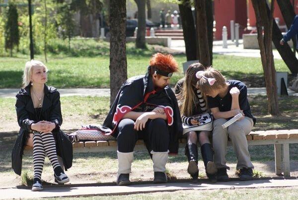 В Волгограде прошел фестиваль аниме (62 фото)