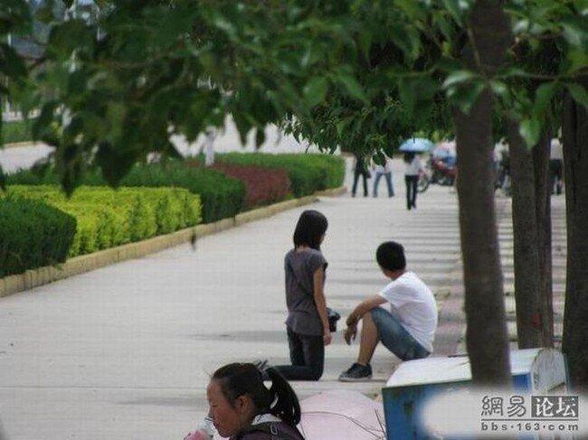 Суровый китайский мужчина (3 фото)