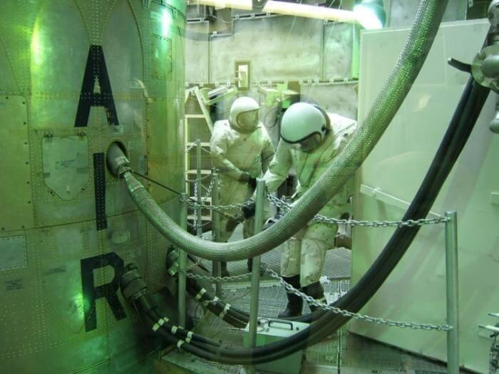 Американская ядерная шахта (34 фото)