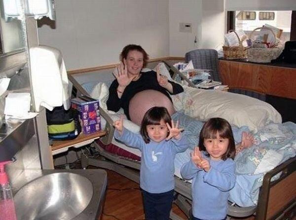 Большая семья (9 фото)