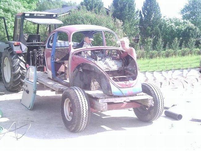 Мини-автомобиль для сына (34 фото)