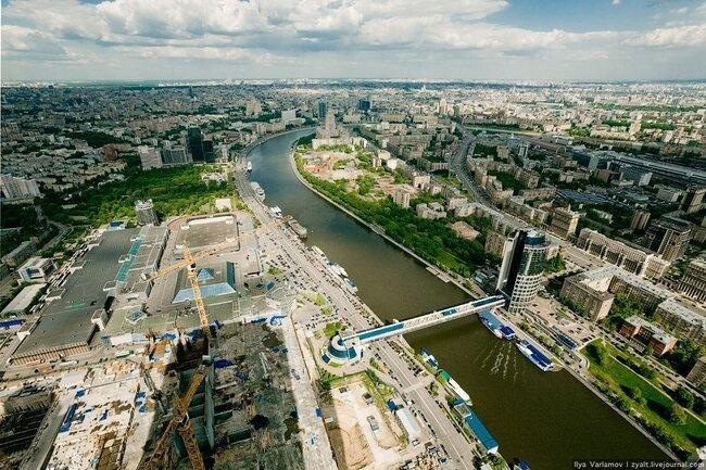 Фотографии Москвы с крыши Города Столиц (25 фото)