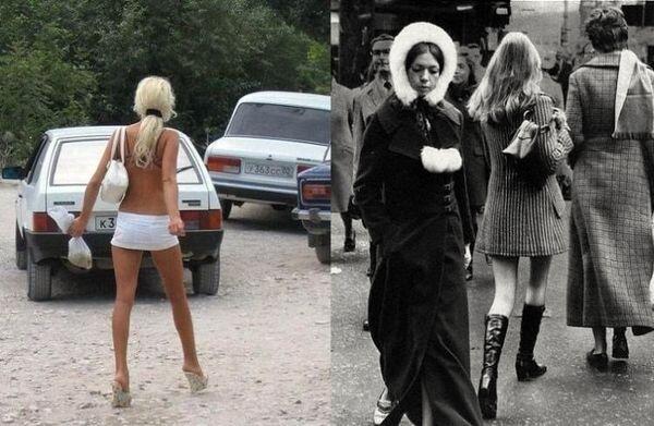 70е и наши дни (22 фото)