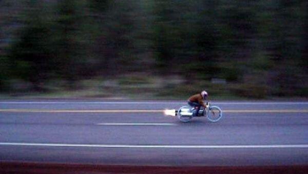 Велоракета (2 фото)