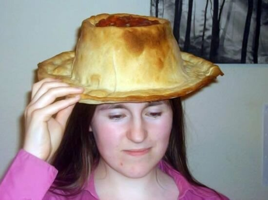 Съедобная шляпа (9 фото)