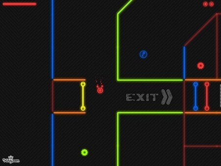Neon Maze
