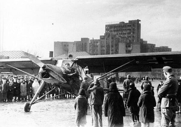 Россия глазами немецких летчиков (43 фото)