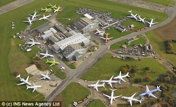 Самый маленький аэропорт (7 фото)