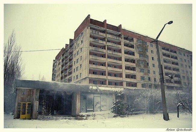 Заброшенные города (90 фото)